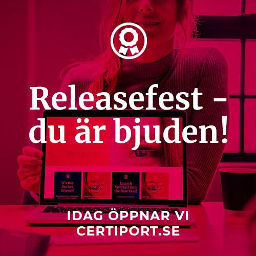 Ny design på Certiport.se