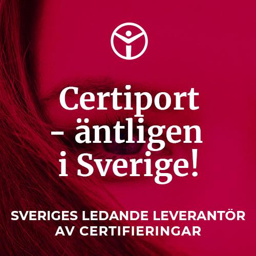 Certiport äntligen i Sverige